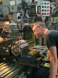 Shot End Component Manufacturing & Design